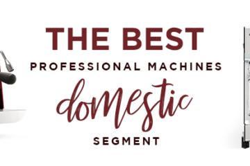 De bästa professionella maskinerna för hemmabruk